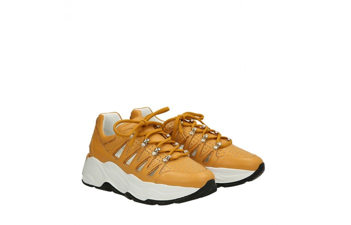 Yellow Roundup sneakers