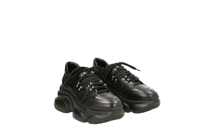 Black calfskin Ugly sneakers