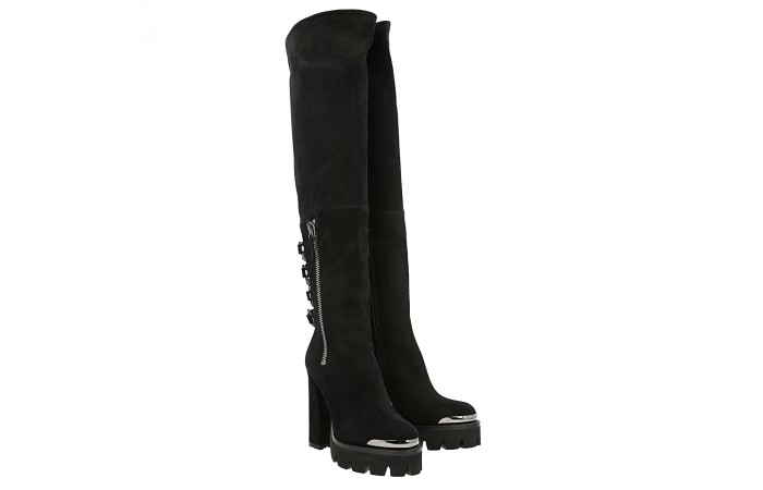 Over the knee top rider boot