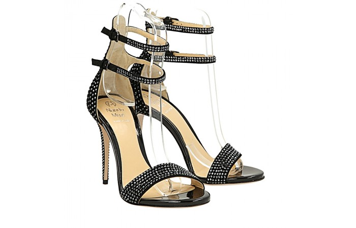 Full strass Bri sandals