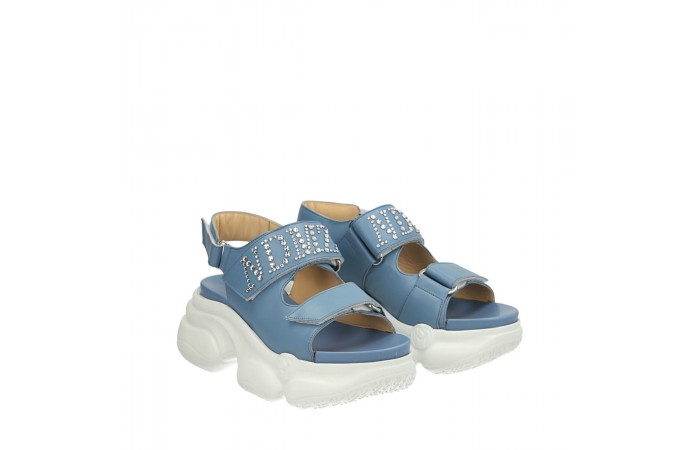 Light blue Havana sandals