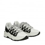 White and black Roundup sneakers