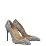 Tweed suede  Top pump