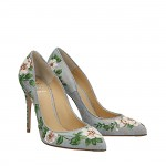 Flowers jeans Top pumps