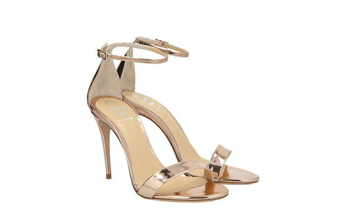 Pink gold Me sandals