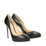 Top Hollywood black napa pumps