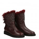 Bella Bimba burgundy snow boot