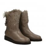 Bella Bimba dove grey snow boot