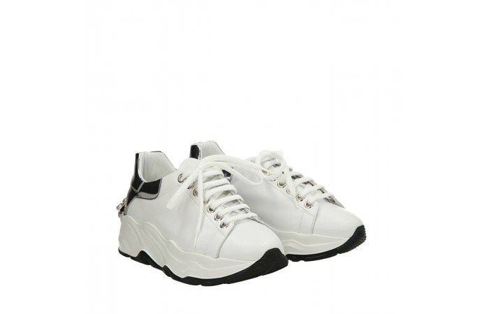 White Roundup sneakers