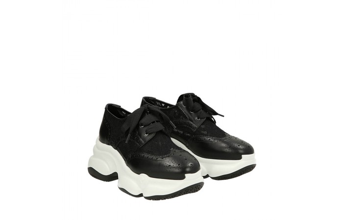 Black lace Ugly sneakers