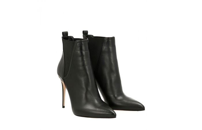 Black caterina ankle boots