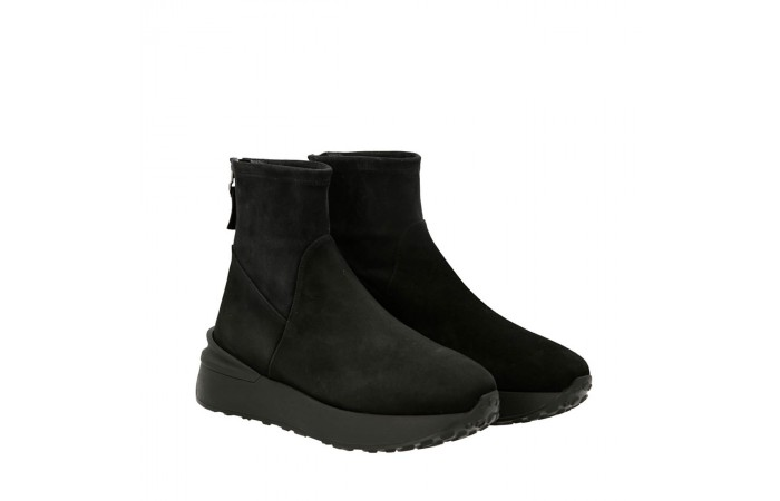 Black grafton ankle boots