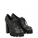 Lace up top rider shoe